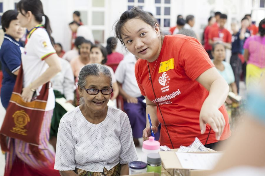 EVF Bringing Vision Care to Myanmar - Bago (39)
