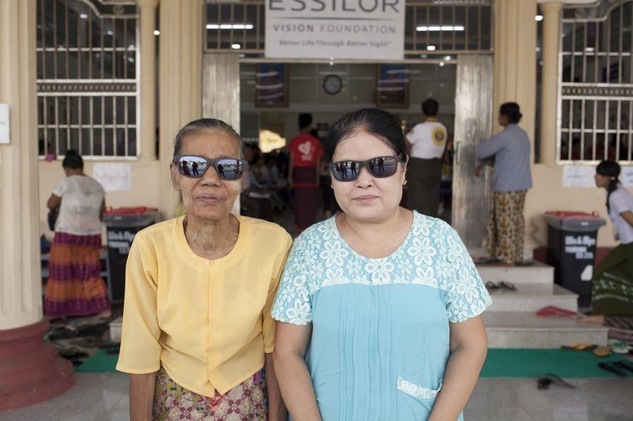 EVF Bringing Vision Care to Myanmar - Bago (43)