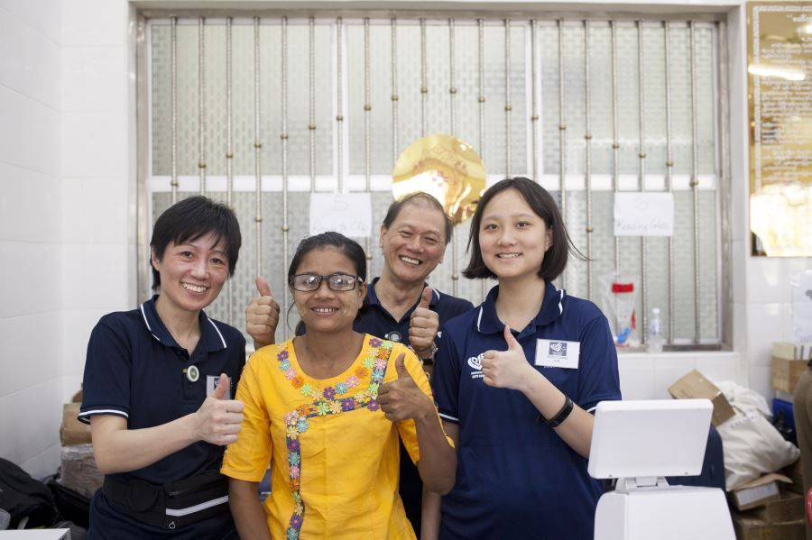 EVF Bringing Vision Care to Myanmar - Bago (50)