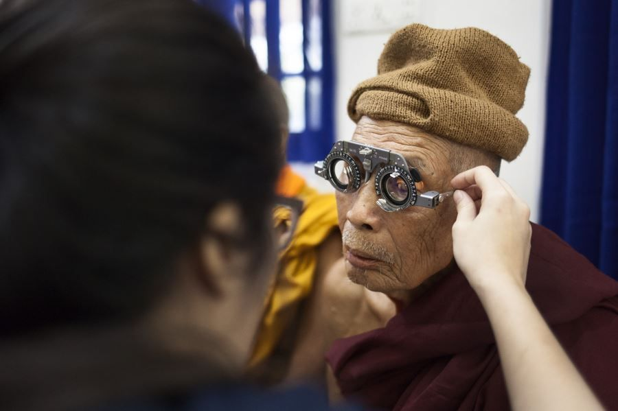 EVF Bringing Vision Care to Myanmar - Bago (7)
