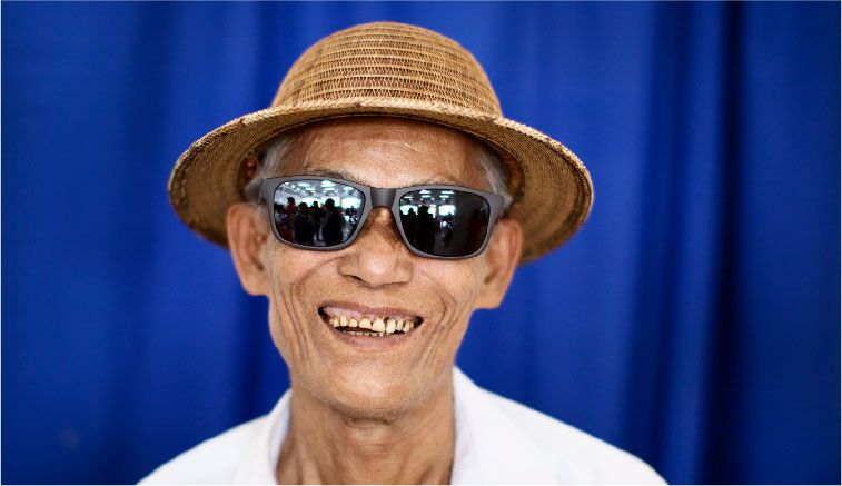 bringing vision care to myanmar